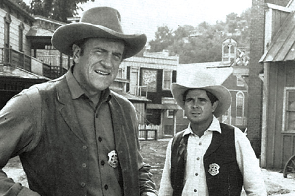 James-Arness-and-Buck-Taylor