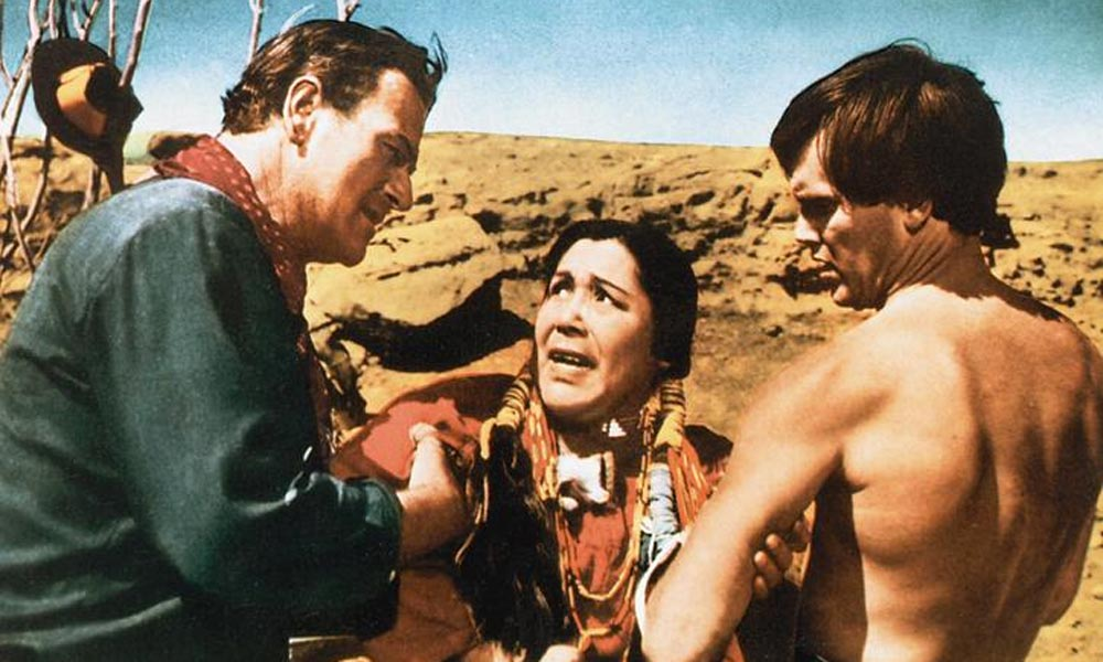 jeffrey hunter john wayne Beulah Archuletta the searchers