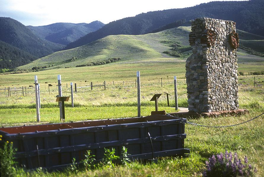 Wagon Box Fight   Wyoming, Trip, Monument