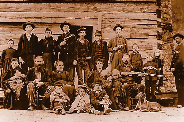 No moderation or regulation could be found in the east Texas war.