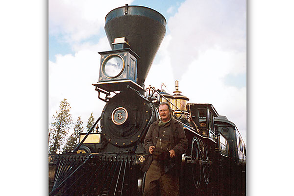 Jim Clark is Hollywood's go-to man when it comes to trains.