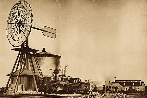 How the early railroaders fueled steam engines in the Old West.
