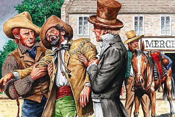The true exploits of horseman Francis Aubry.