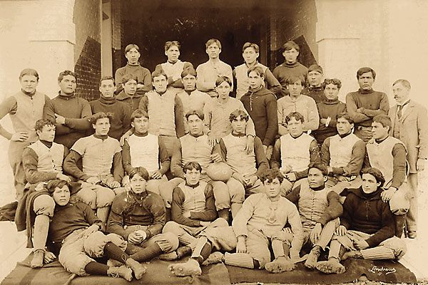 How the Carlisle football team started a new Indian war.