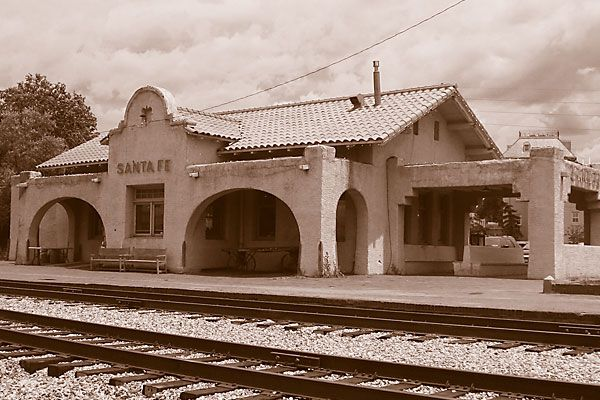 Historic depots of the West.