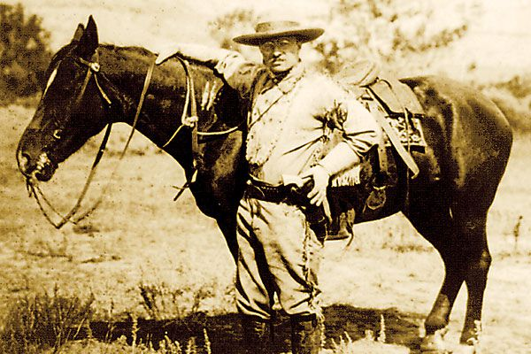 How U.S. Presidents have recreated themselves as cowboys since the turn of the 20th century.