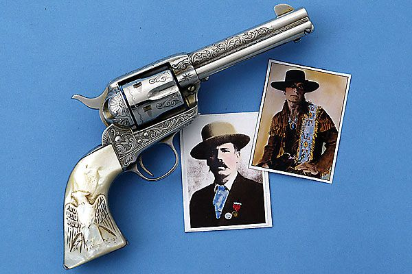 Mythical guns are just as exciting as those tied to the real Old West.