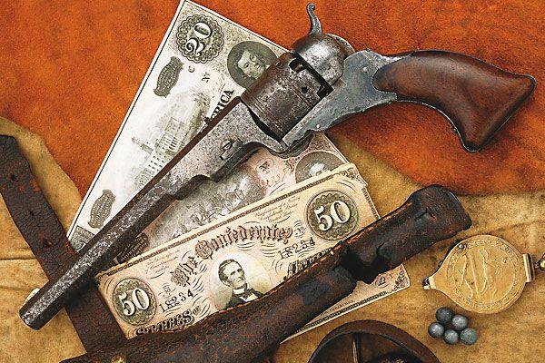 The Paterson revolver breaks the trail for future legendary Colts.