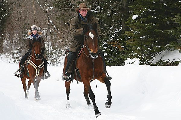Winter riding tips.