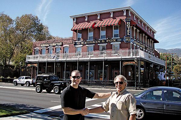 Restoring Carson City's St. Charles Hotel.