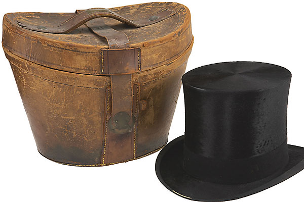 Presidential sale tops off with top hats.