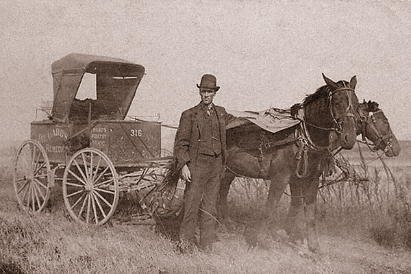 Image result for frontier tonic sellers with wagon