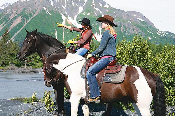 Eco-friendly trail riding techniques.