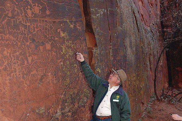 Kenneth J. Zoll discovers an ancient solar calendar.