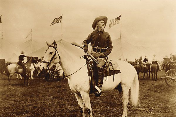 The 1873 Winchester made its way into the arms of Buffalo Bill Cody and Belle Starr.