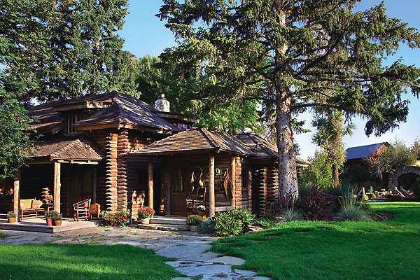 Restoring a historic ranch built by a chief carpenter at Yellowstone.