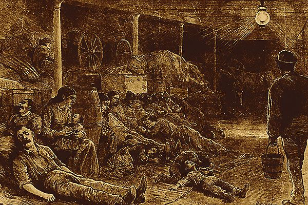 The cholera epidemic of 1873 struck fear on the frontier.