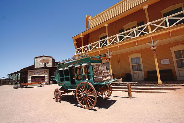 From the Hollywood backlot to Geronimo's rifle to a Spanish mission