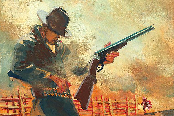 Texas John Slaughter vs The Jack Taylor Gang