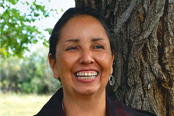 Charmaine White Face is helping protect a sacred Sioux landmark.