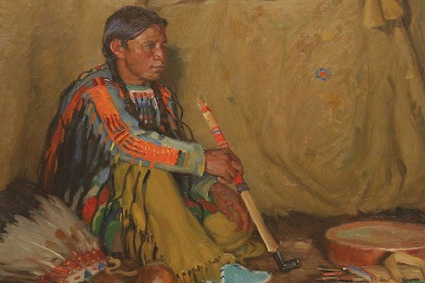 Western artists who helped promote Glacier National Park came together at two Great Falls auctions.