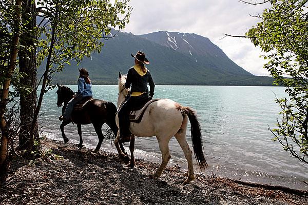 Trailing Alaskan Klondike prospector Charles E. Chapman.