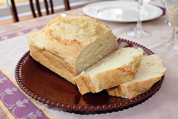 Just one of the many bounties of bread.