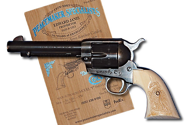 America's Colt Peacemaker actually started out as a Russian.