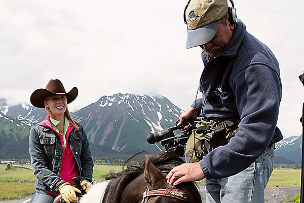 Filming on horseback in amazing, off-the-beaten-path destinations.