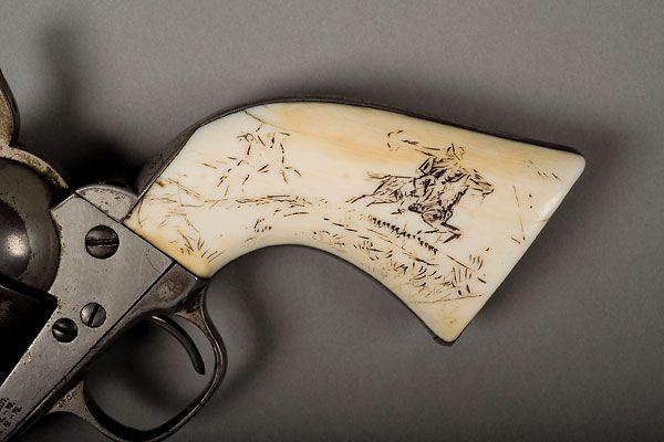Documenting the cowboy artist's most treasured sidearm.