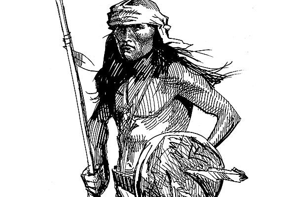 Cochise vs. Lt. Bascom