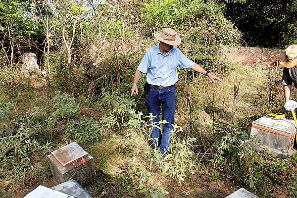 Have investigators found the grave of an early Texas Ranger?