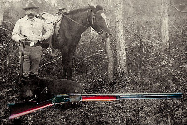 Frontiersmen and big-game hunters loved the 1876 Winchester repeating rifle.
