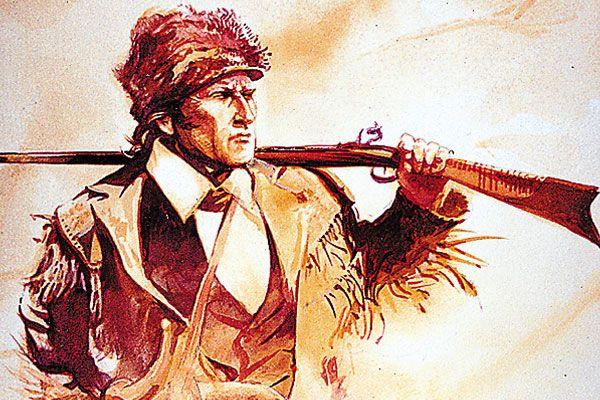 davy crockett vs. Santa Anna's Army