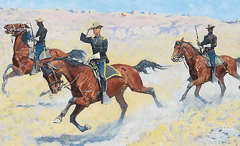 frederic-remington_buffalo-soldiers_arizona-terriotry_illustrator