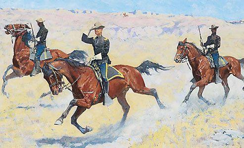frederic-remington_buffalo-soldiers_arizona-terriotry_illustrator