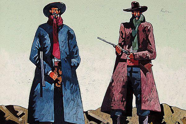 thom-ross_patient-gunmen_wilde-myer-gallery_scottsdale-art-walk