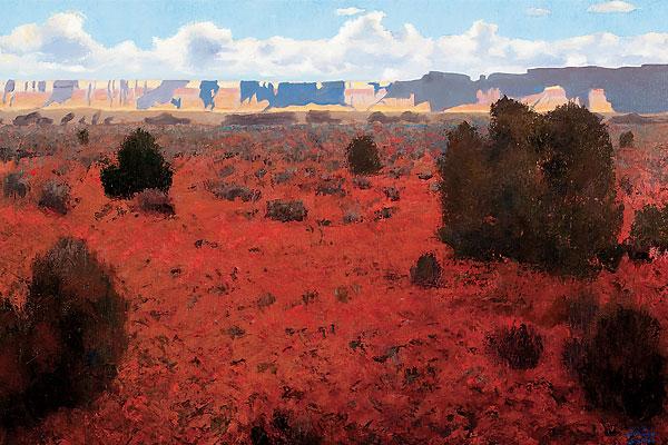 gary_ernest_smith_desert_solitude_painter_artist_art_western