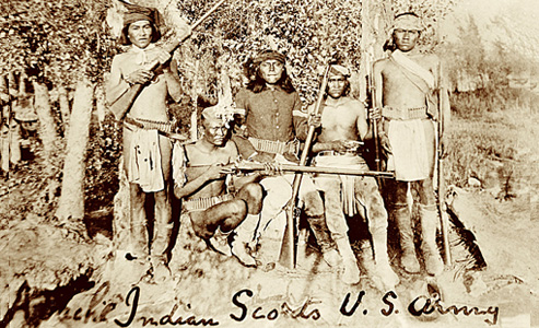 indian scouts-cut-mouth-moses-apache-company