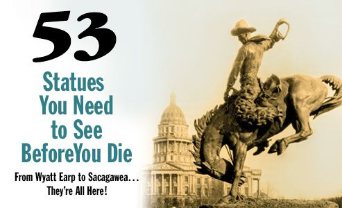 historical western bronze statues