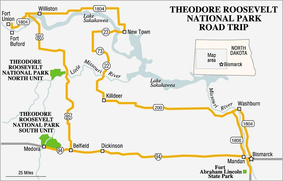 Theodore Roosevelt National Park True West Magazine