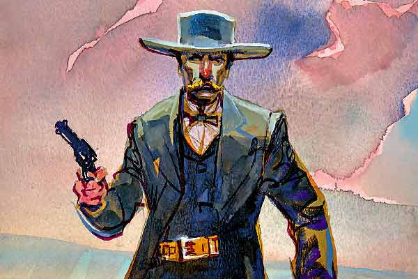 classic-gunfights-doc-holliday-illustration-bob-boze-bell
