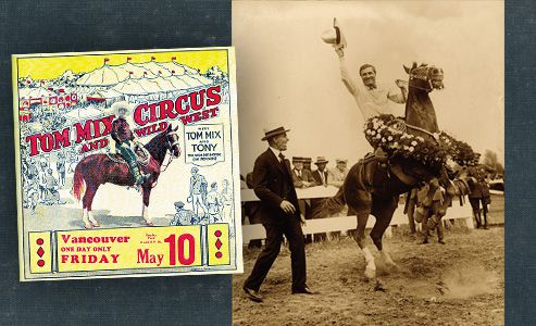 tom-mix- rodeo-star-Western-movies