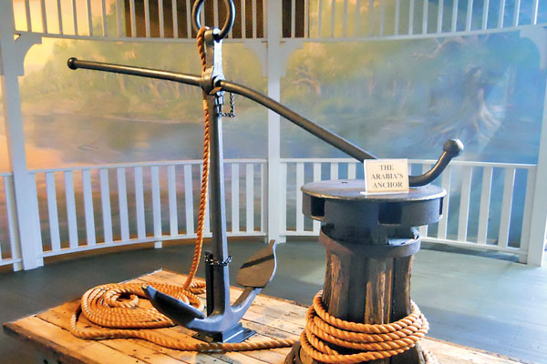 Steamboat Arabia Anchor