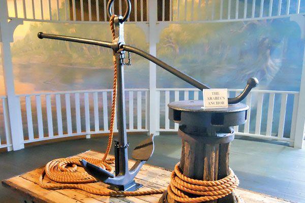 Steamboat Arabia Anchor