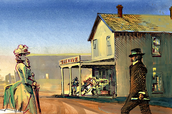 bob-boze-bell_cozad-gunfight_-Bee-Hive-General-Store
