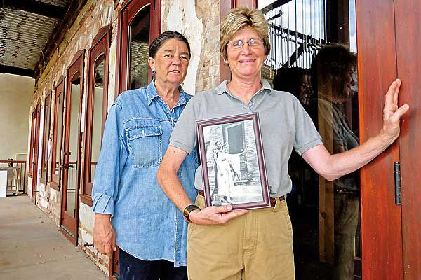 mary-willis-and-sally-dryer_Jerome_preservationists