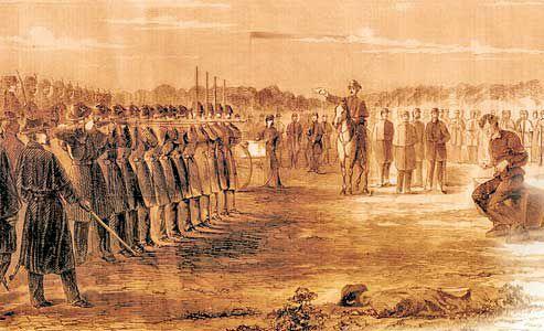 fort-union-battle-scene_fort-union-battle-scene_Harper's Weekly