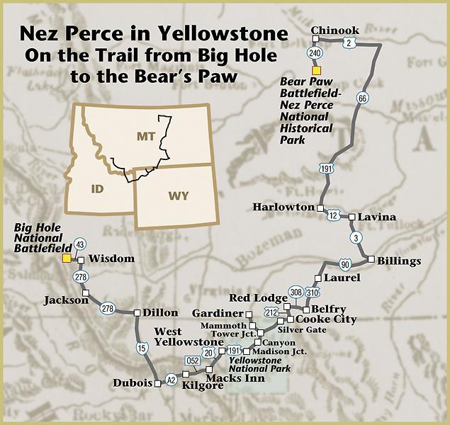 Nez Perce in Yellowstone - True West Magazine