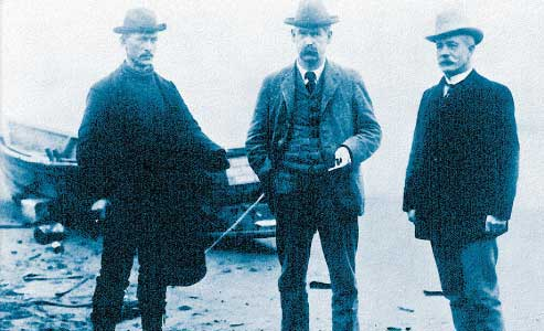 Ed Englestadt-Wyatt Earp-John Clum_Nome-Alaska-beach